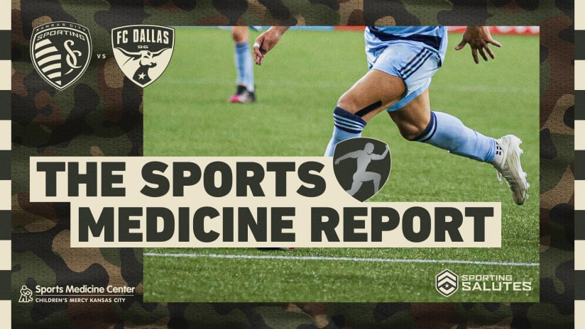Sports Medicine Report: Two out and one questionable ahead of #SKCvDAL | July 31, 2021