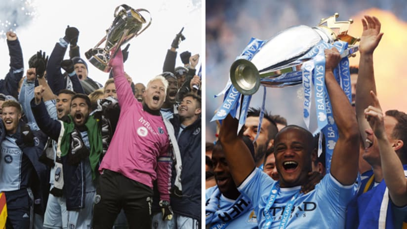 Clash of Champions: Sporting KC vs. Manchester City FC on July 23