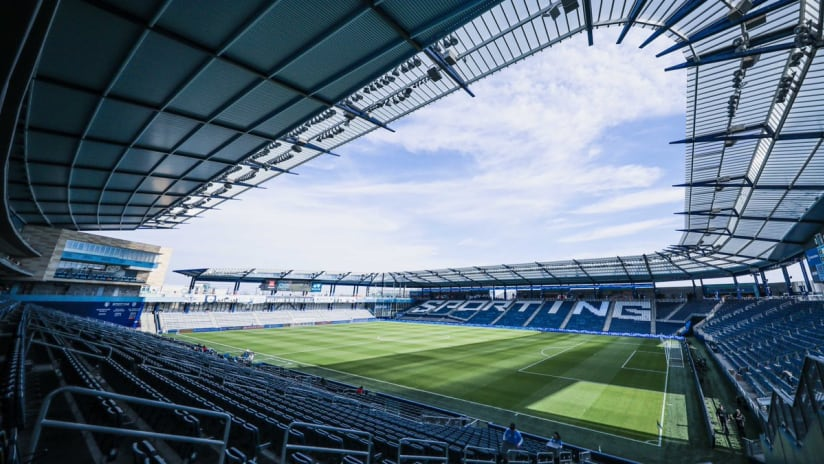 Children's Mercy Park sunny - Sporting KC - March 7, 2020