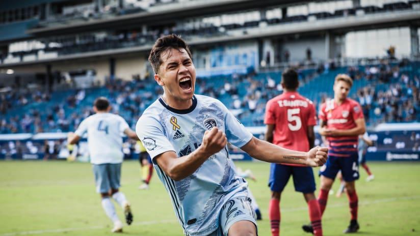 Felipe Hernandez - Sporting KC vs. FC Dallas - September 19, 2020