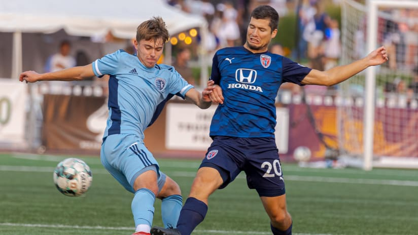 Recap: Kendall McIntosh makes six saves as SKC II falls 1-0 to Indy Eleven