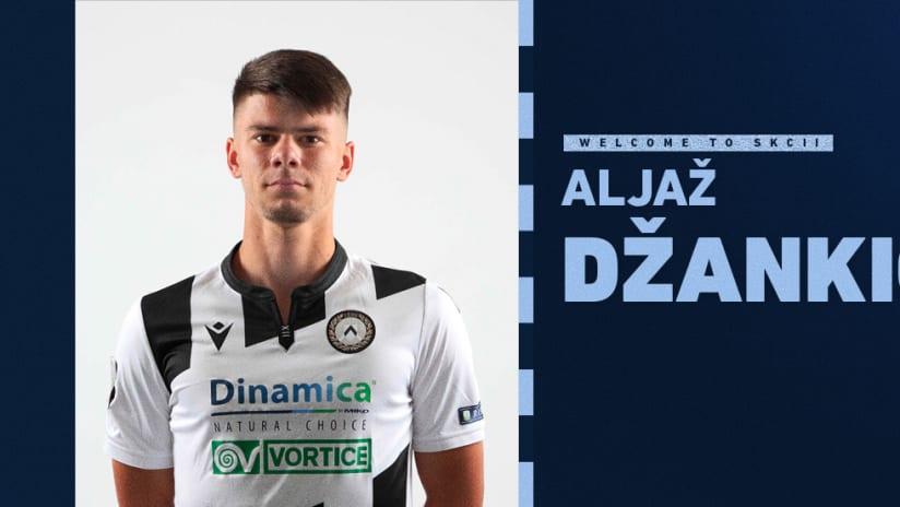 SKC II Signs Aljaz Dzankic