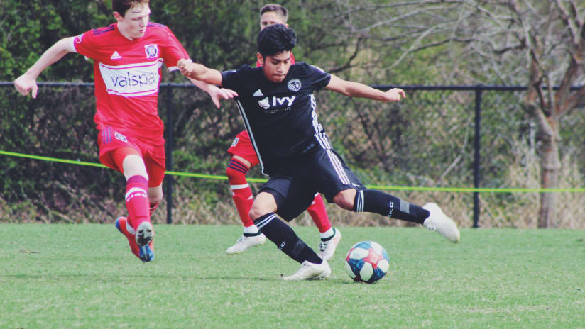 Sporting KC Academy at GA Cup Qualifying - February 15, 2019