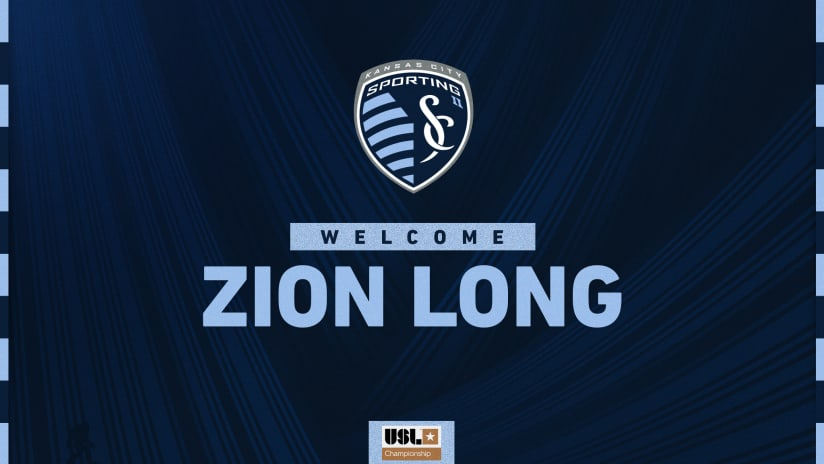 Sporting Kansas City II signs Academy forward Zion Long to Academy contract