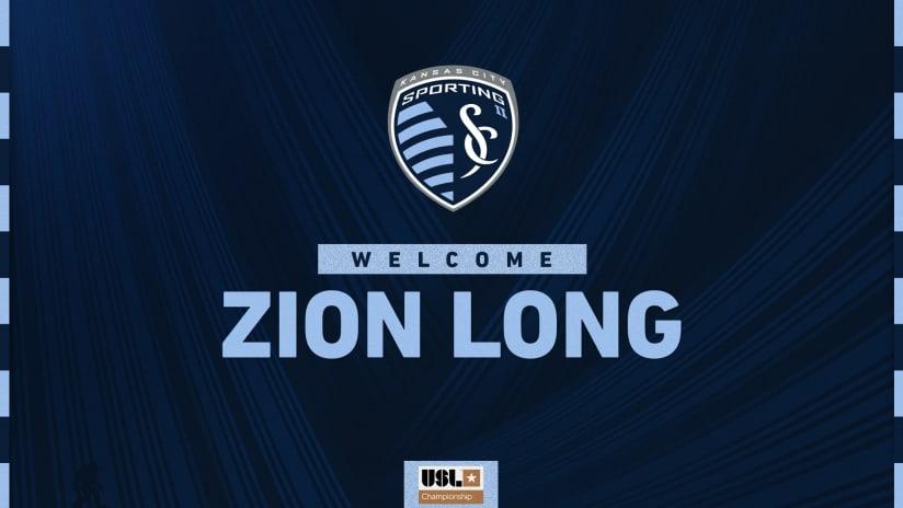 SKC II Signs Zion Long