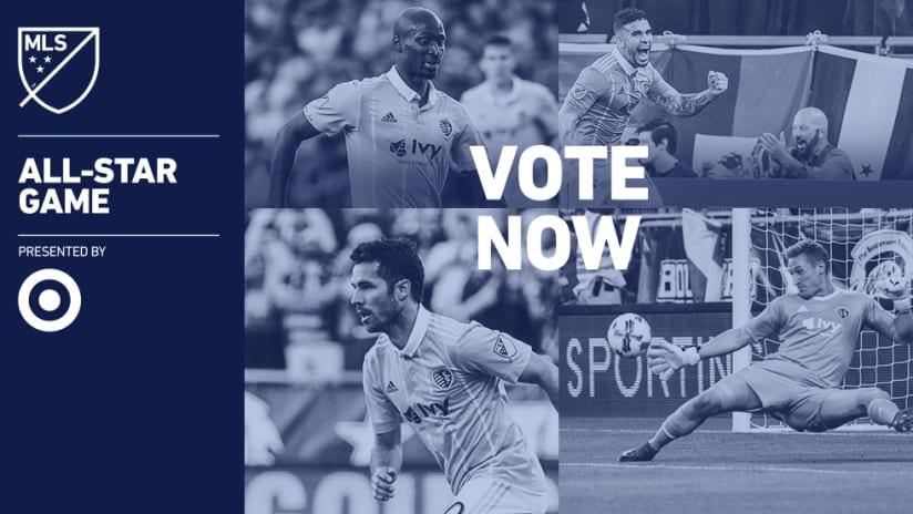 Sporting KC MLS All-Star Game Fan XI Voting
