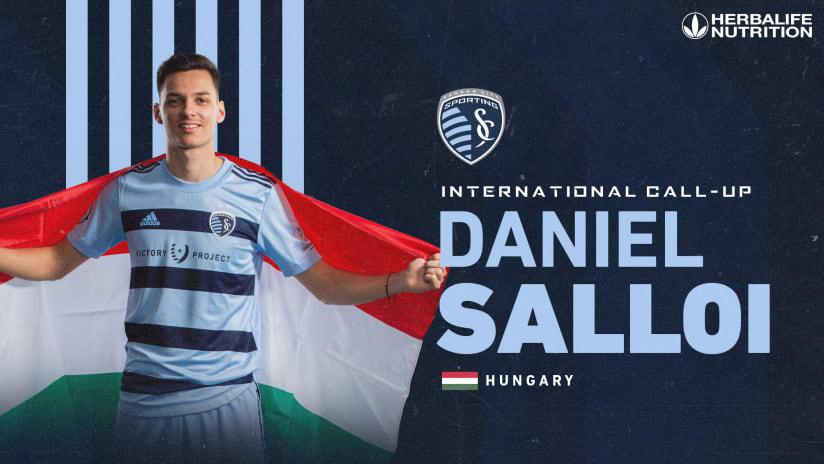 Daniel Salloi joins Hungary national team