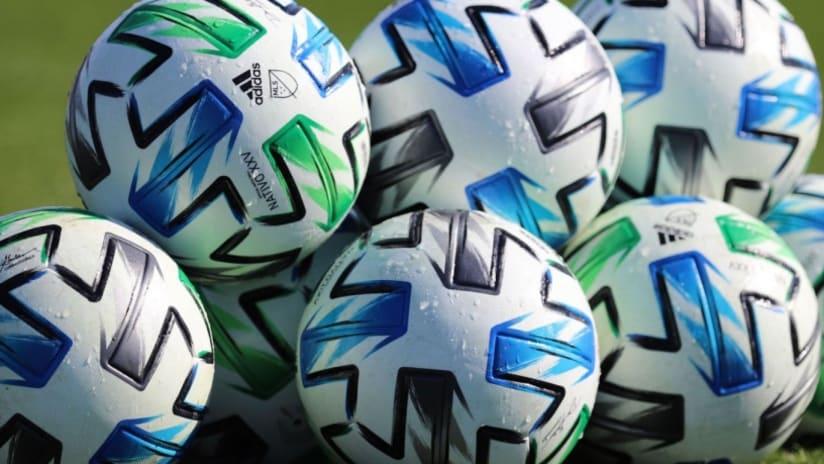 MLS Nativo 2020 soccer balls