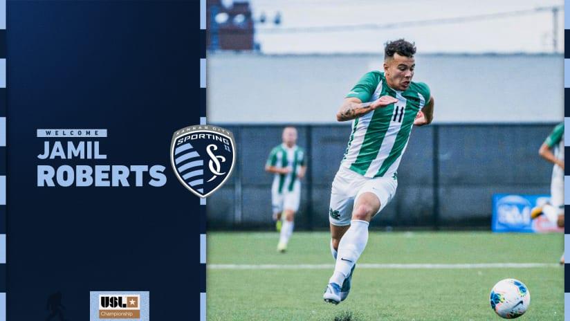 Sporting Kansas City II signs 2021 MLS SuperDraft selection Jamil Roberts