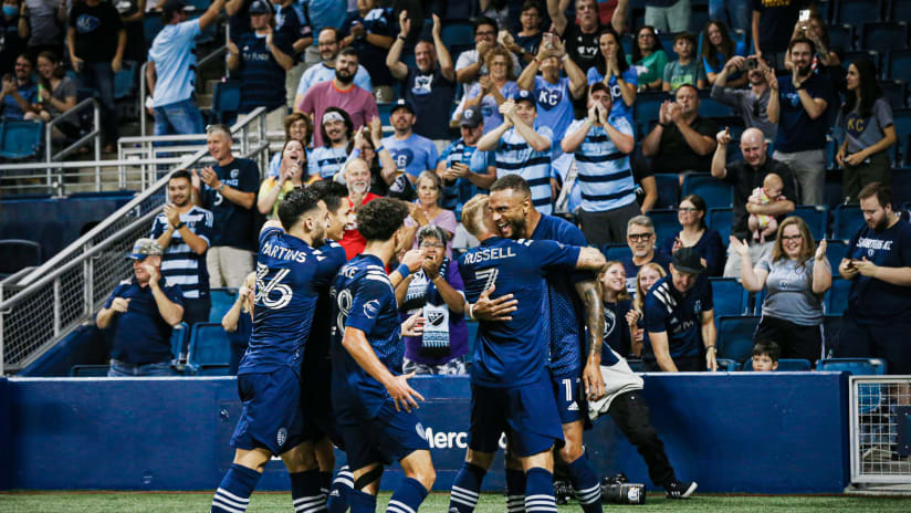 Match Recap: Sporting surges to first place with rampant 4-0 win over Minnesota