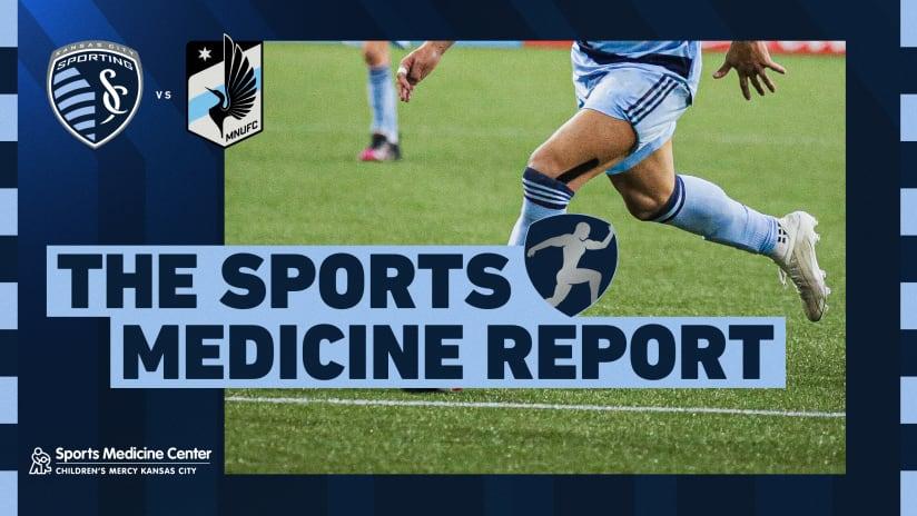 Sports Medicine Report: Alan Pulido questionable heading into #SKCvMIN | Sept. 15, 2021