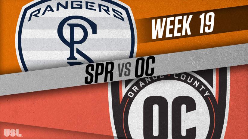 Swope Park Rangers vs. Orange County SC - July 18, 2018