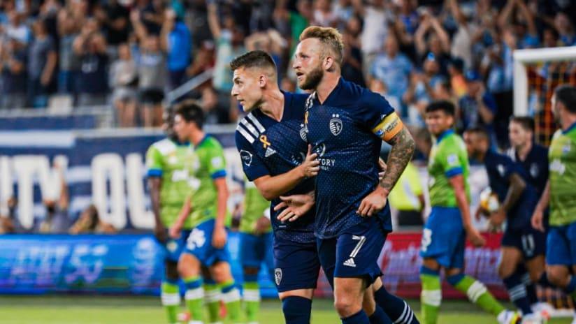 Match Recap: Sporting's rally falls short in 2-1 loss to Seattle