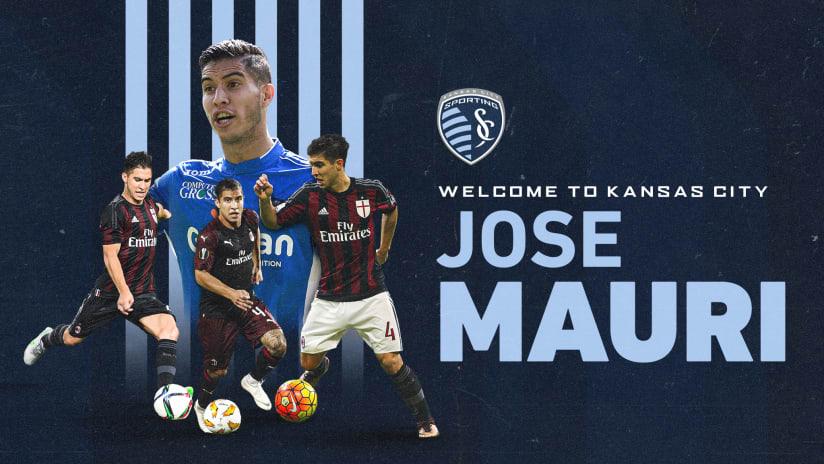 Sporting KC signs Jose Mauri