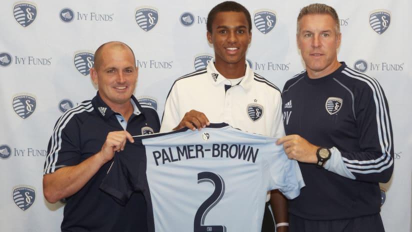 Erik Palmer-Brown press conference