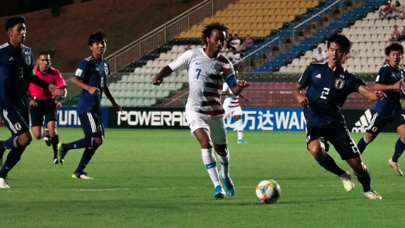 Gianluca Busio - United States vs. Japan - U-17 World Cup - October 30, 2019