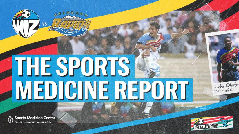 Sports Medicine Report Retro - Aug. 28, 2021