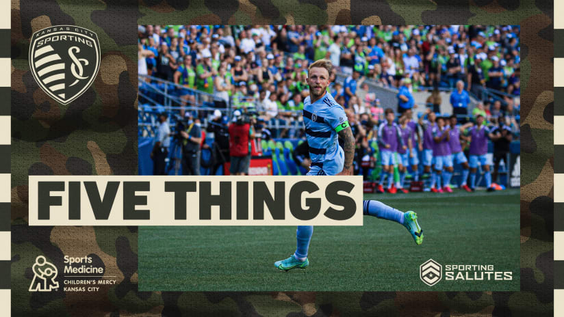Five Things presented by Children's Mercy Sports Medicine Center: #SKCvFCD | July 31, 2021
