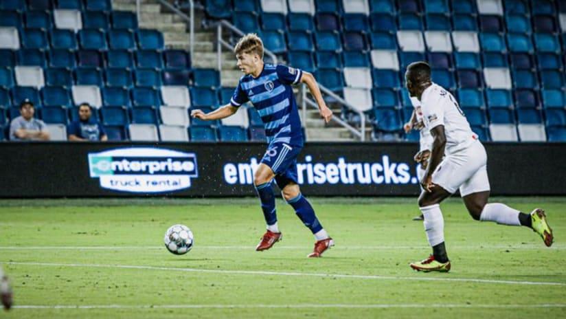 Jake Davis - Sporting KC II vs. Birmingham Legion FC - Oct. 1, 2021
