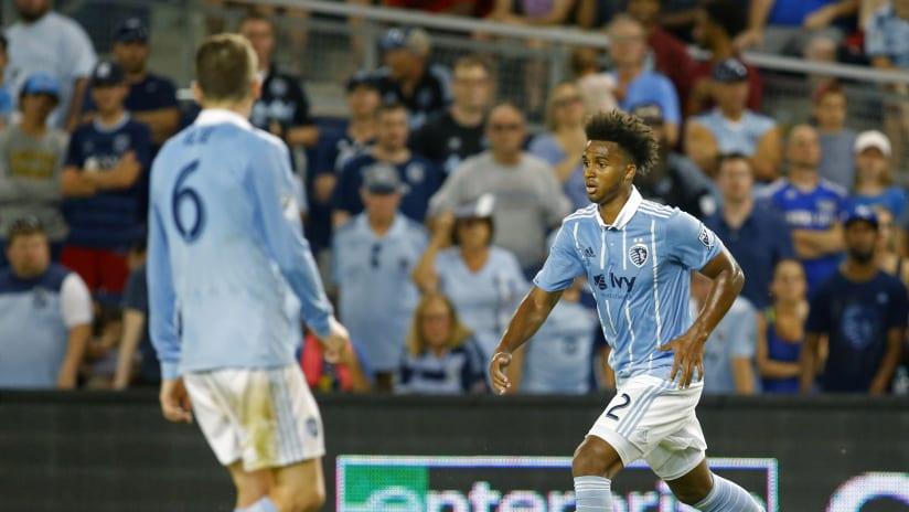 Erik Palmer-Brown - Sporting KC vs. Philadelphia - July 6, 2017