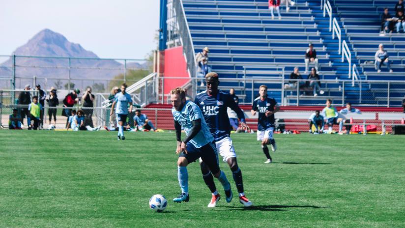 Johnny Russell - Sporting KC vs. New England Revolution preseason