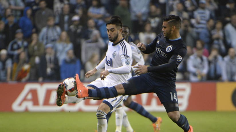 Dom Dwyer - Sporting KC vs Vancouver Whitecaps FC - March 12, 2016
