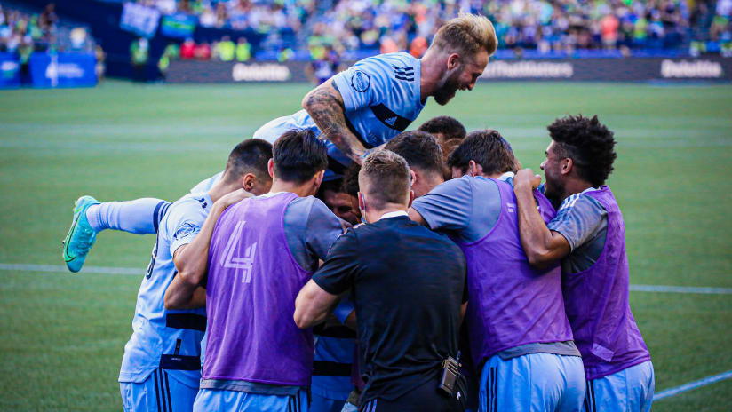 Sporting KC Weekly Schedule: July 27 - Aug. 1, 2021