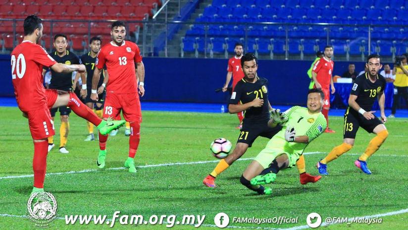 Soony Saad - Lebanon MNT vs. Malaysia