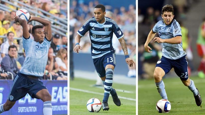 2015 Rookies: Amadou Dia, Saad Abdul-Salaam, Connor Hallisey
