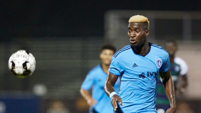 Fredinho Mompremier - Sporting KC II at Saint Louis FC - Aug. 15, 2020