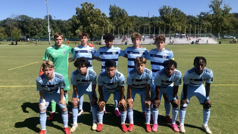 Sporting KC U-17s earn big win to kick off rivalry with St. Louis City SC