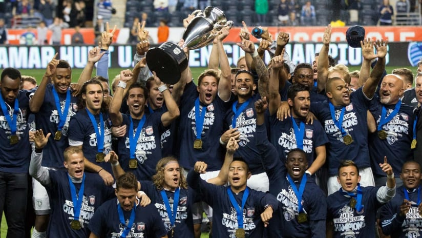Sporting KC - 2015 Lamar Hunt U.S. Open Cup Champions