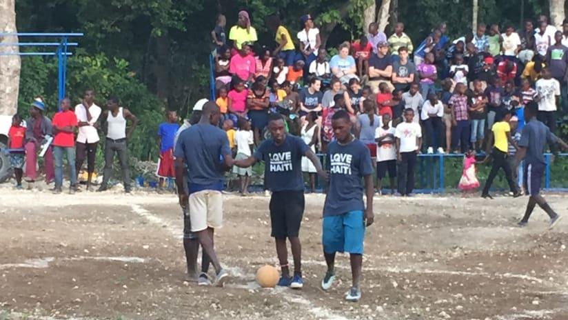 Quincy's Field LQVE HAITI