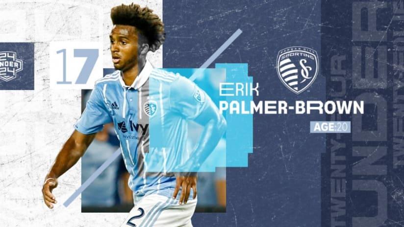 Erik Palmer Brown - MLS 24 Under 24