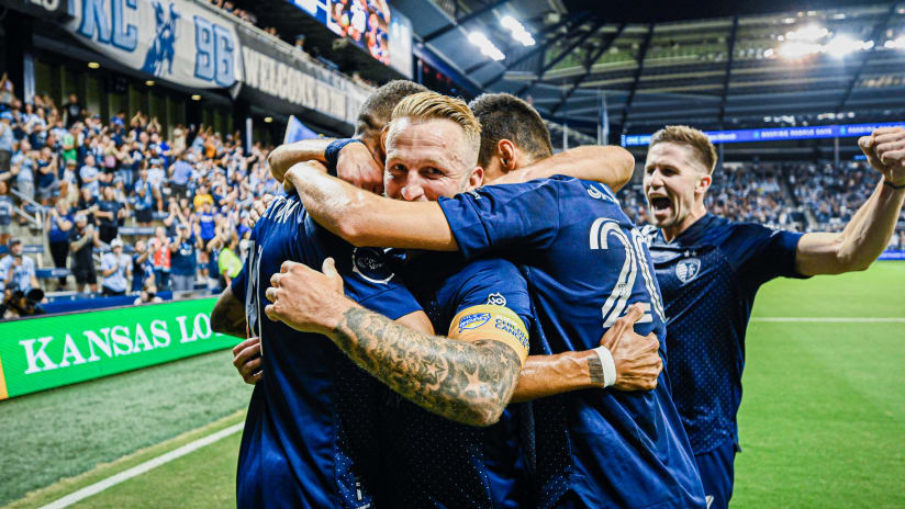 Johnny Russell and Peter Vermes named to MLS Team of the Week presented by Audi