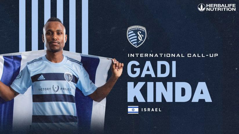 Gadi Kinda Israel National Team