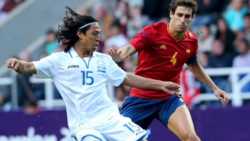 Roger Espinoza for Honduras vs. Spain