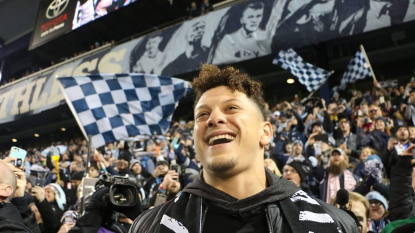 Patrick Mahomes on why he became part of Sporting KC ownership group