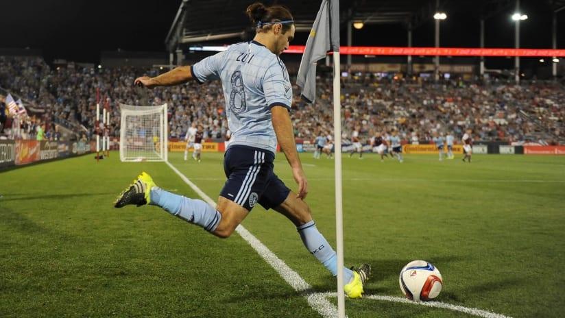 Graham Zusi - Sporting KC at Colorado Rapids - August 29, 2015