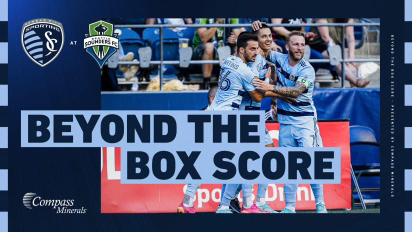 Beyond the Box Score presented by Compass Minerals: Sporting silences Seattle in vintage road performance