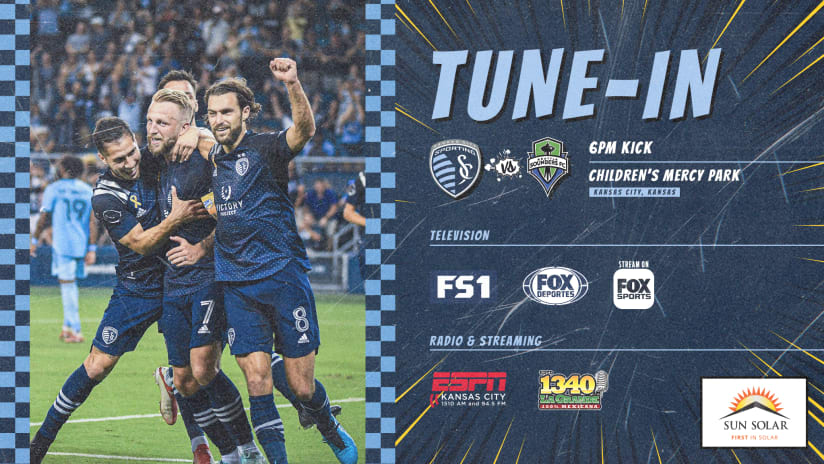 How to watch Sporting vs. Seattle on Sunday   Sept. 26, 2021