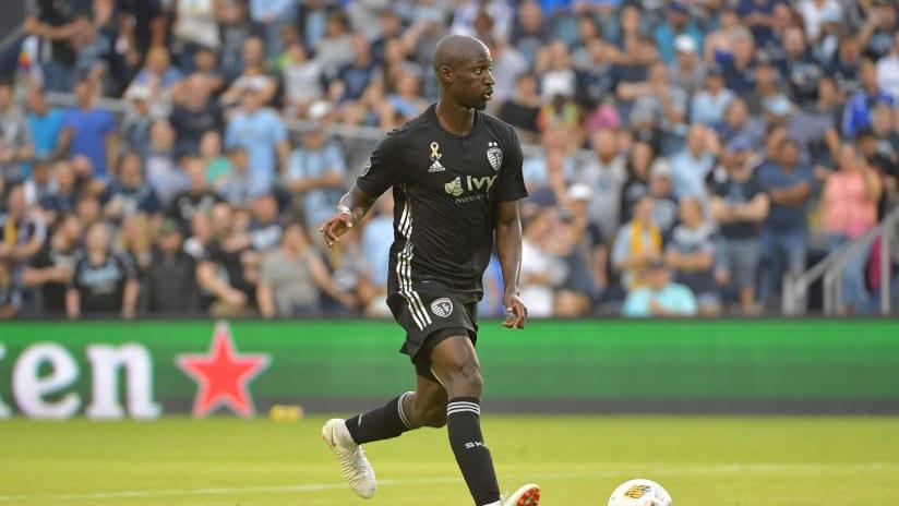 Ike Opara dribbling - Sporting KC trade