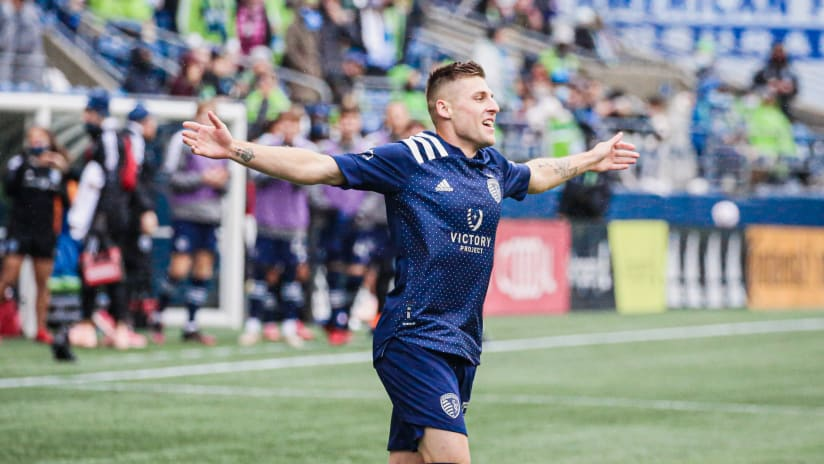 Match Recap: Sporting seals playoff berth with massive 2-1 win at first-place Seattle