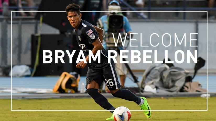 Bryam Rebellon to SPR