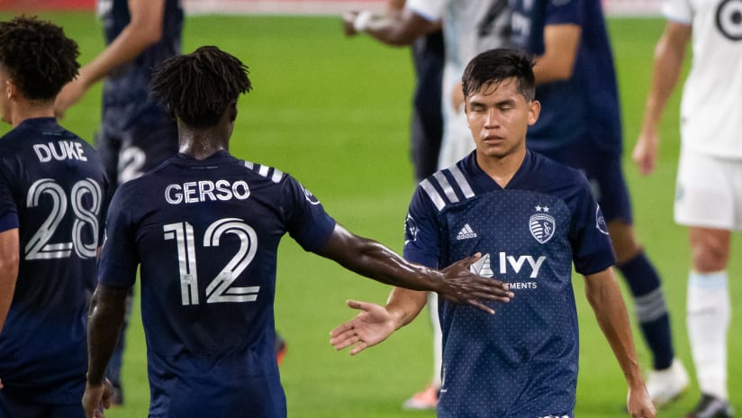 Felipe Hernandez - Sporting KC at Minnesota United FC - August 21, 2020