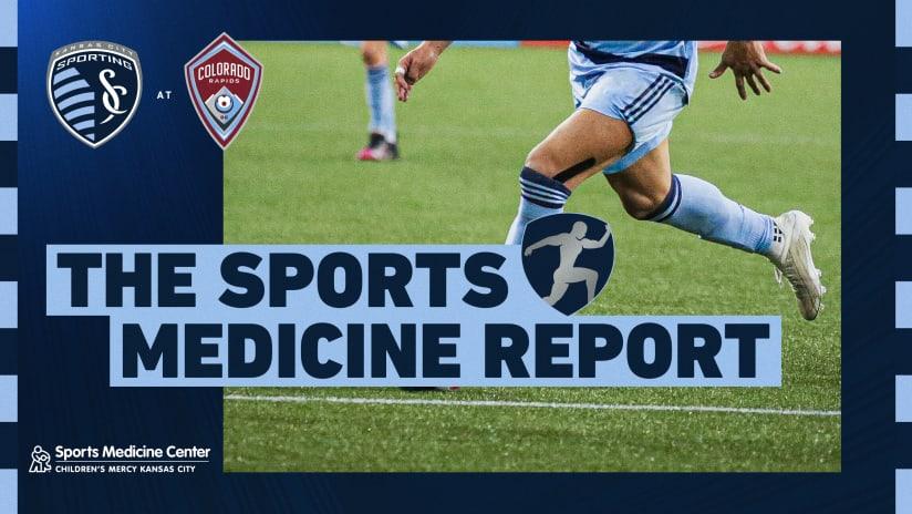 Sports Medicine Report - Aug. 7, 2021