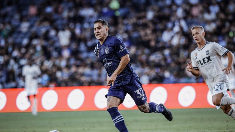Jose Mauri - Sporting KC at LAFC - Sept. 3, 2021