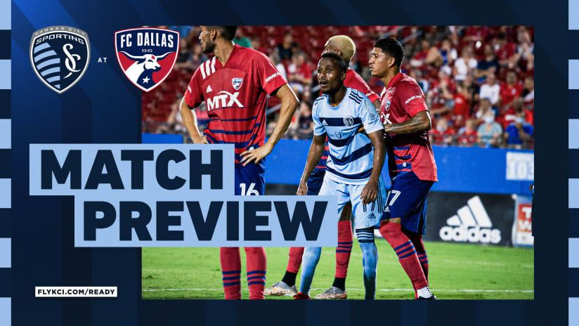 Build KCI Match Preview: Second-place Sporting to visit FC Dallas on Wednesday