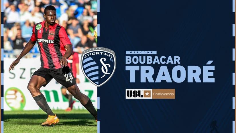 SKC II Signs Boubacar Traore