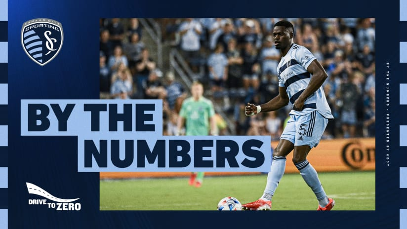 By The Numbers presented by KDOT: #LAFCvSKC | Aug. 4, 2021